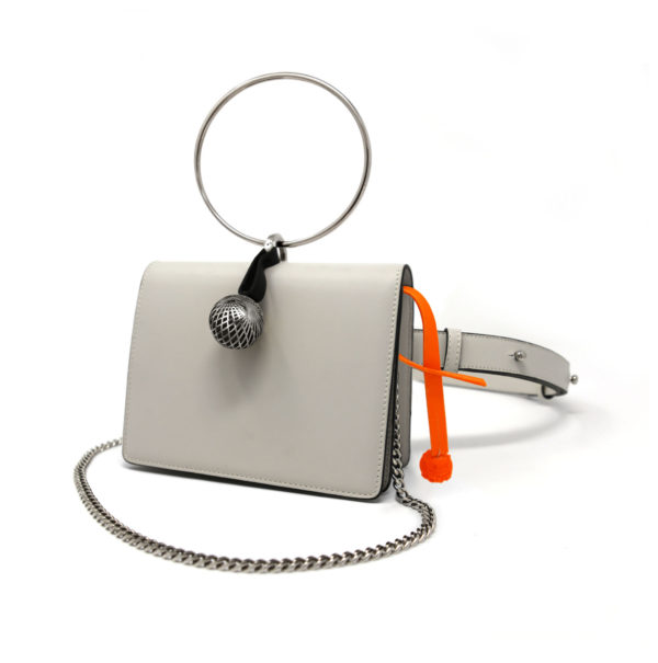 W30 Belt Bag White 00 – Maissa by Giulia Ber Tacchini Italian Custom Jewels and Luxury