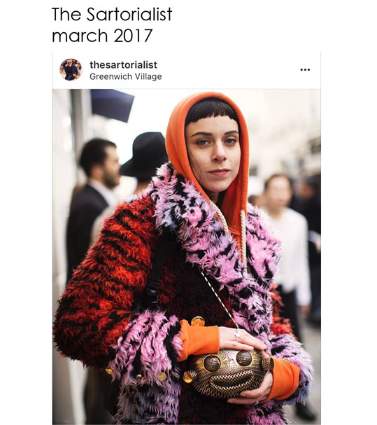 Sartorialist number of march 2017 about Giulia Ber Tacchini Italian jewels and luxury
