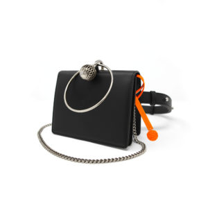 W30 Belt Bag Black 01 - Maissa by Giulia Ber Tacchini Italian Custom Jewels and Luxury
