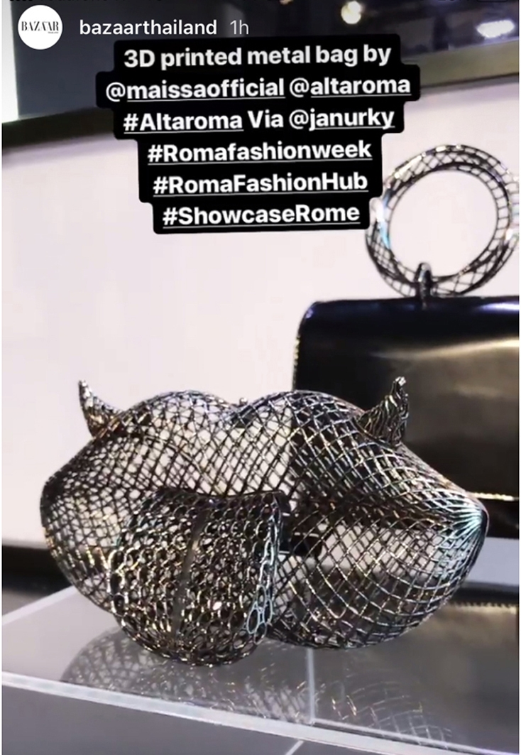 Press Shoutout January 2019 - Maissa by Giulia Ber Tacchini Italian Custom Jewels and Luxury
