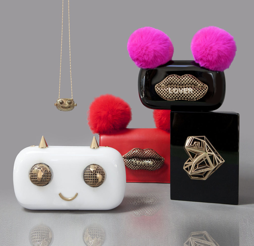 Pure Gold Magazine of January 2018 About Maissa Giulia Ber Tacchini Italian Custom Jewels and Luxury