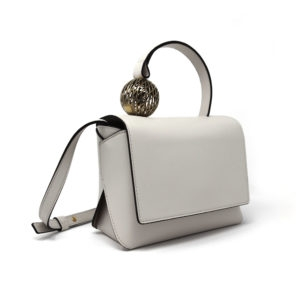 Dede Medi Ball HandBag White 00 - Maissa by Giulia Ber Tacchini Italian Custom Jewels and Luxury