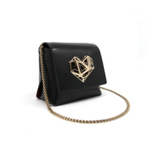 Dede Medi Love HandBag Black 00 - Maissa by Giulia Ber Tacchini Italian Custom Jewels and Luxury
