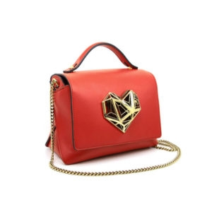 Dede Medi Love HandBag Red 00 - Maissa by Giulia Ber Tacchini Italian Custom Jewels and Luxury