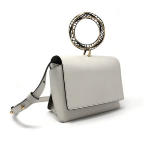 Dede Medi Moebius HandBag White 00 - Maissa by Giulia Ber Tacchini Italian Custom Jewels and Luxury