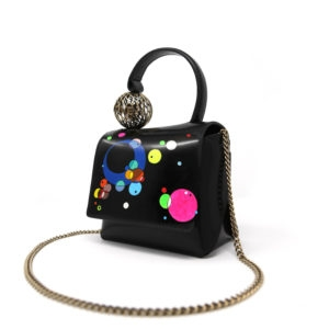 Dede Mini Ball HandBag HandPainted 00 - Maissa by Giulia Ber Tacchini Italian Custom Jewels and Luxury