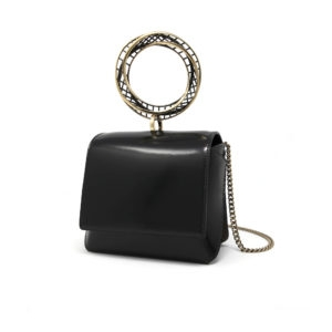 Dede Mini Moebius HandBag Black 00 - Maissa by Giulia Ber Tacchini Italian Custom Jewels and Luxury