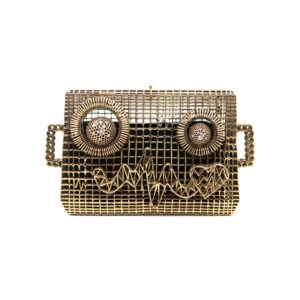 Mr. AdoRobot Clutch Bag 00 - Maissa by Giulia Ber Tacchini Italian Custom Jewels and Luxury