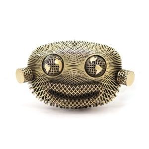 Mr. WildWorld Gold Clutch Bag 00 - Maissa by Giulia Ber Tacchini Italian Custom Jewels and Luxury