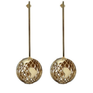 Ball Earrings 00 - Maissa by Giulia Ber Tacchini Italian Custom Jewels and Luxury