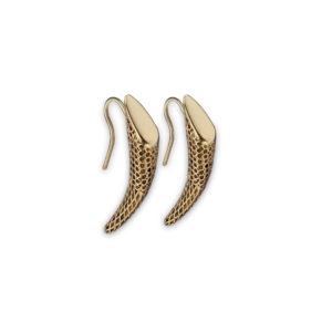 Double Wild Horn Earrings 00 - Maissa by Giulia Ber Tacchini Italian Custom Jewels and Luxury