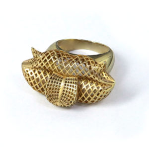 Mr Lips Ring 00 - Maissa by Giulia Ber Tacchini Italian Custom Jewels and Luxury