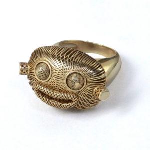 Mr WildWorld Ring 00 - Maissa by Giulia Ber Tacchini Italian Custom Jewels and Luxury
