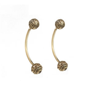 Dou Dou Piercing Earrings 00 - Maissa by Giulia Ber Tacchini Italian Custom Jewels and Luxury from Milan