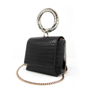 Mini Moebius Croc Belt Bag - Maissa by Giulia Ber Tacchini Italian Custom Jewels and Luxury from Milan